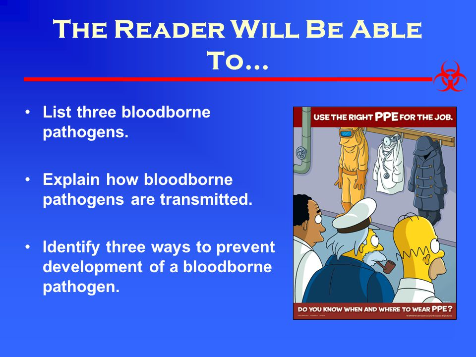 The Reader Will Be Able To...