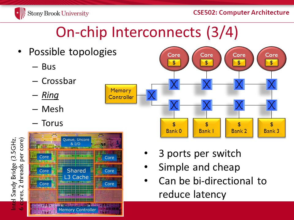 On-chip Interconnects (3/4)