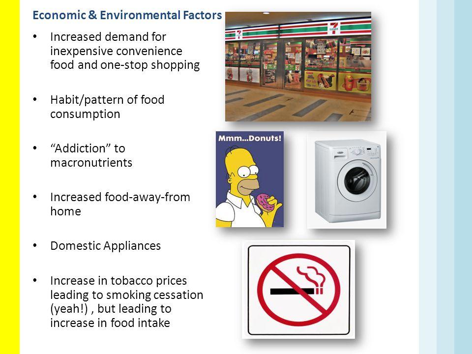 Economic & Environmental Factors