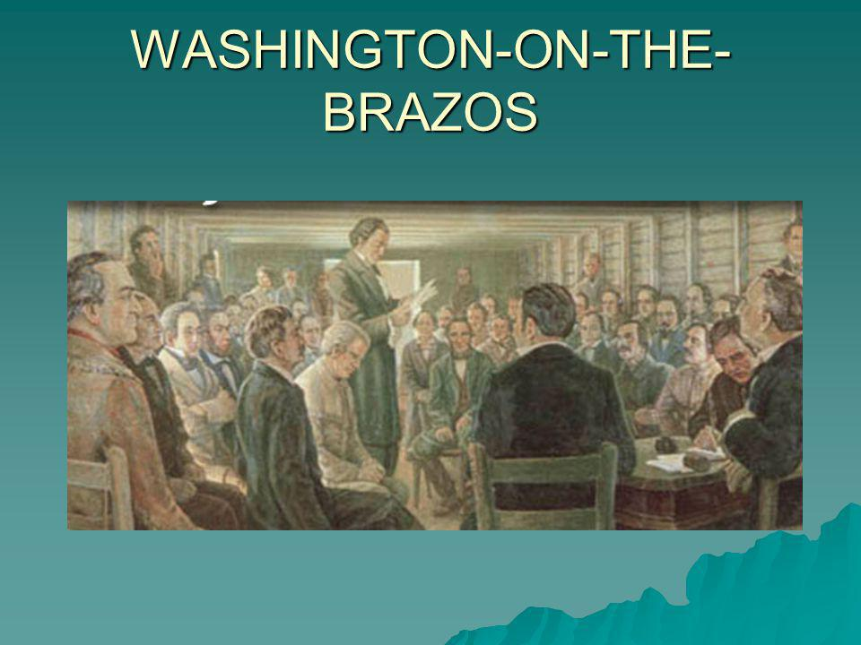 WASHINGTON-ON-THE-BRAZOS