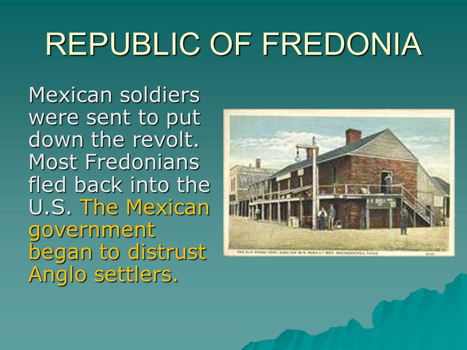 REPUBLIC OF FREDONIA