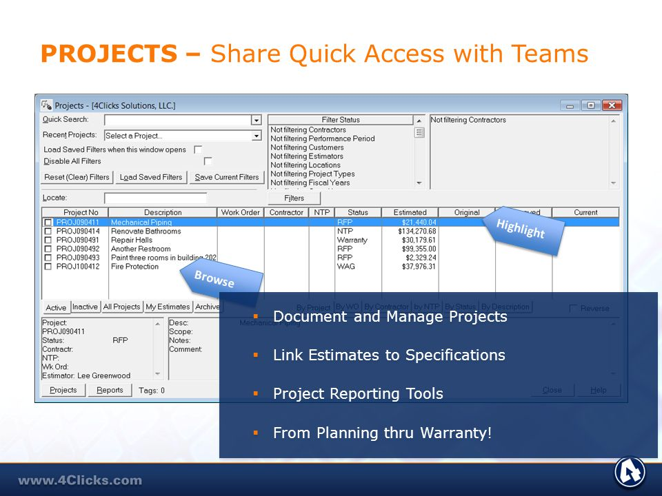 PROJECTS – Share Quick Access with Teams