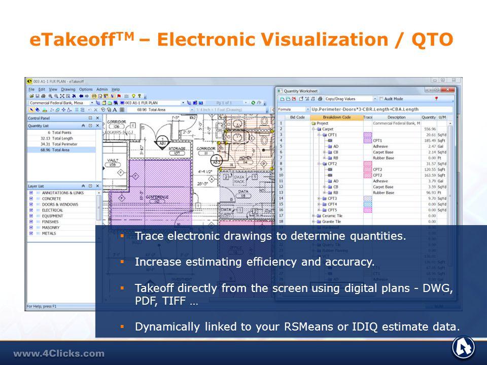 eTakeoffTM – Electronic Visualization / QTO