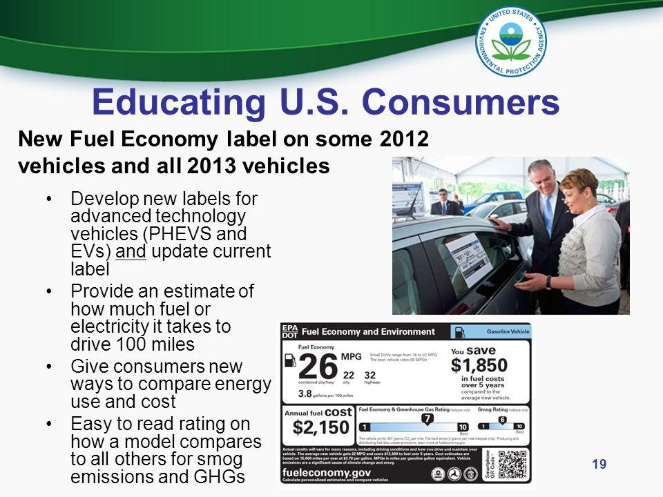 Educating U.S. Consumers