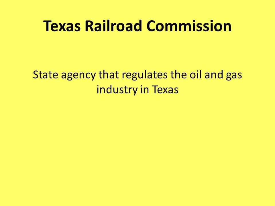 Texas Railroad Commission