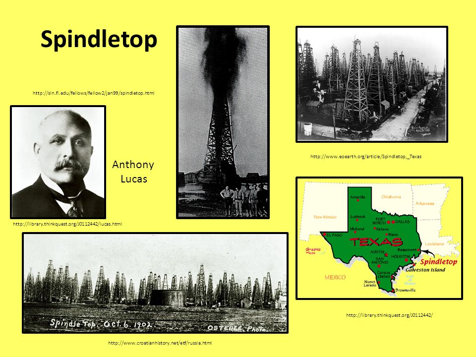 Spindletop Anthony Lucas
