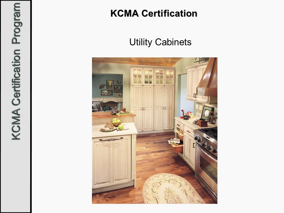 KCMA Certification Utility Cabinets