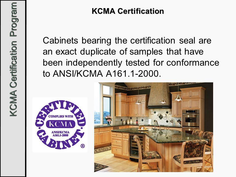 KCMA Certification