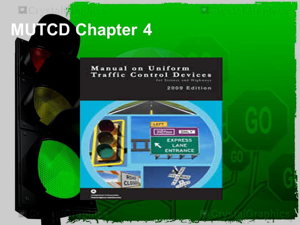 MUTCD Chapter 4