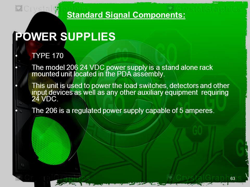 Standard Signal Components: