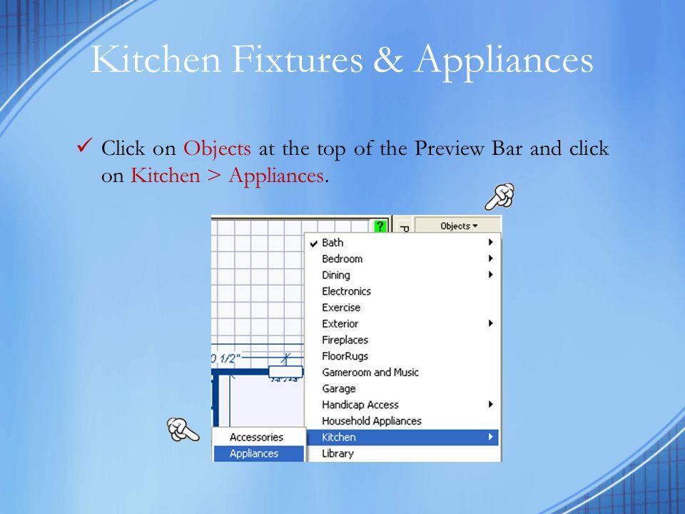 Kitchen Fixtures & Appliances