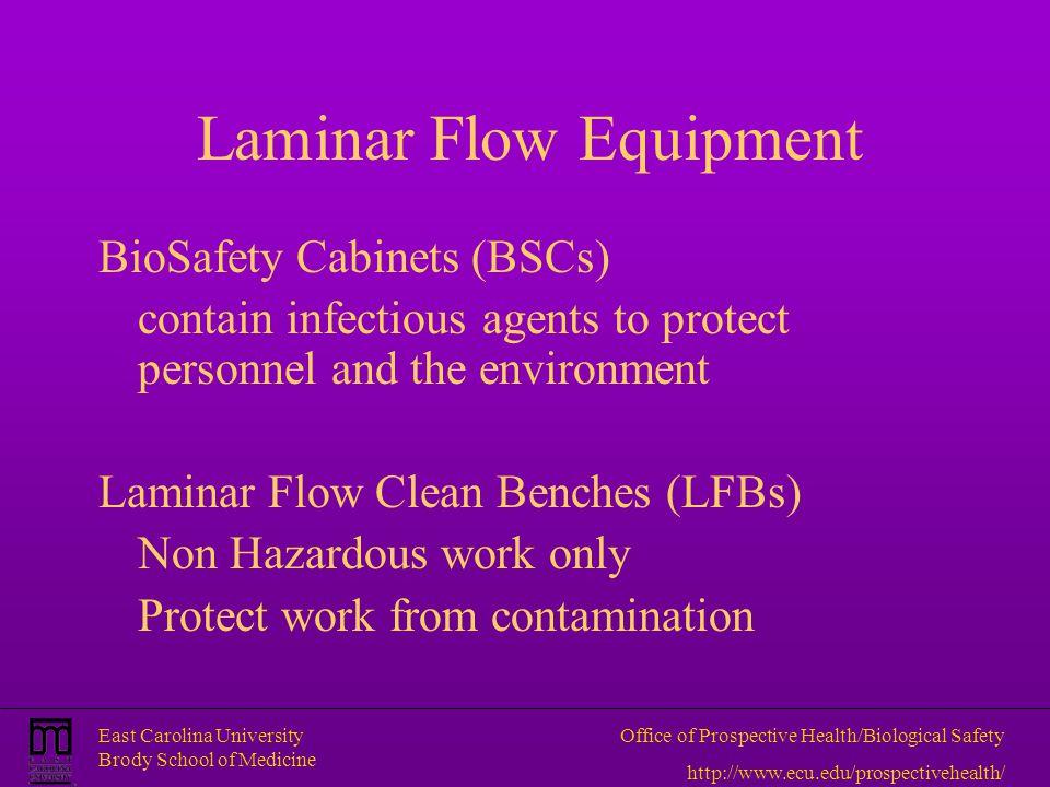 Laminar Flow Equipment