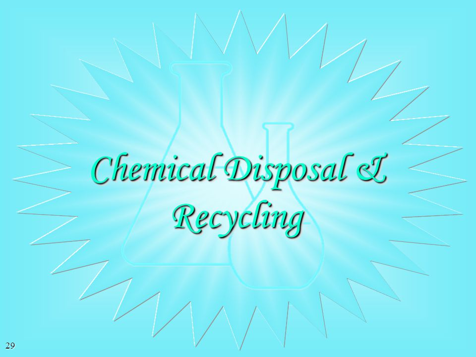 Chemical Disposal & Recycling