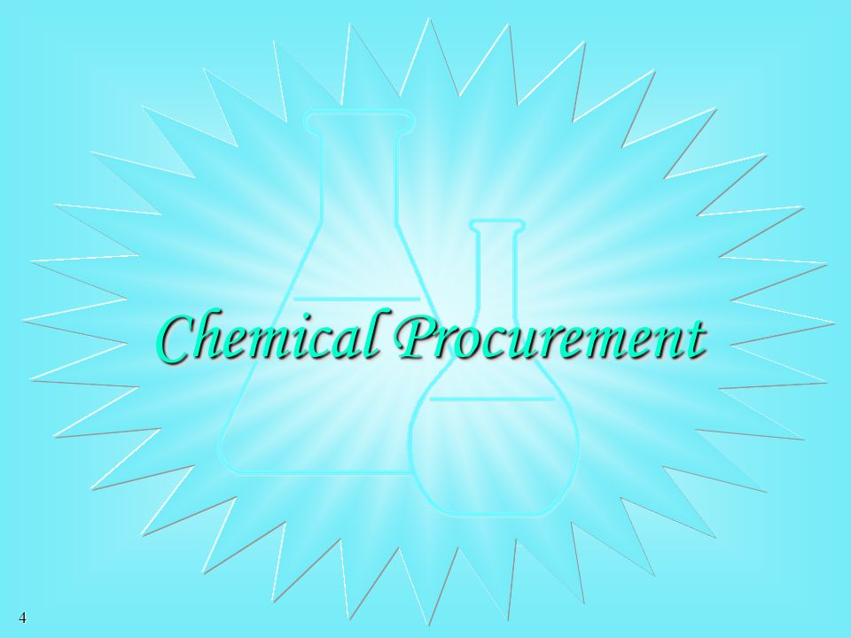 Chemical Procurement