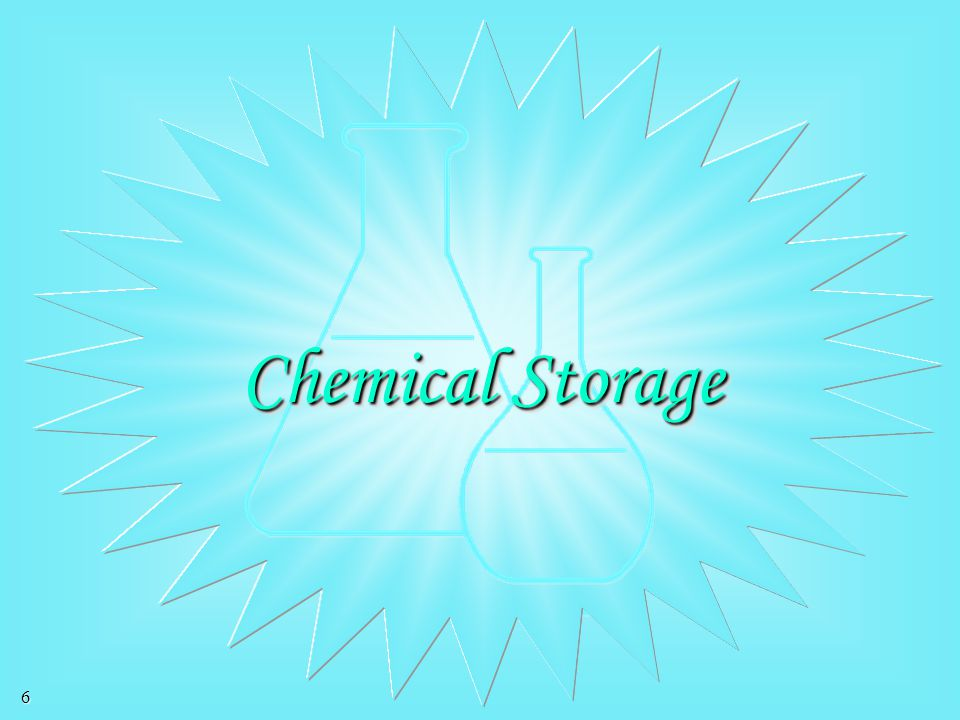 Chemical Storage