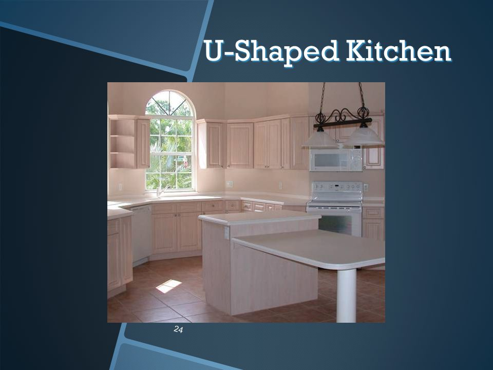 U-Shaped Kitchen 24