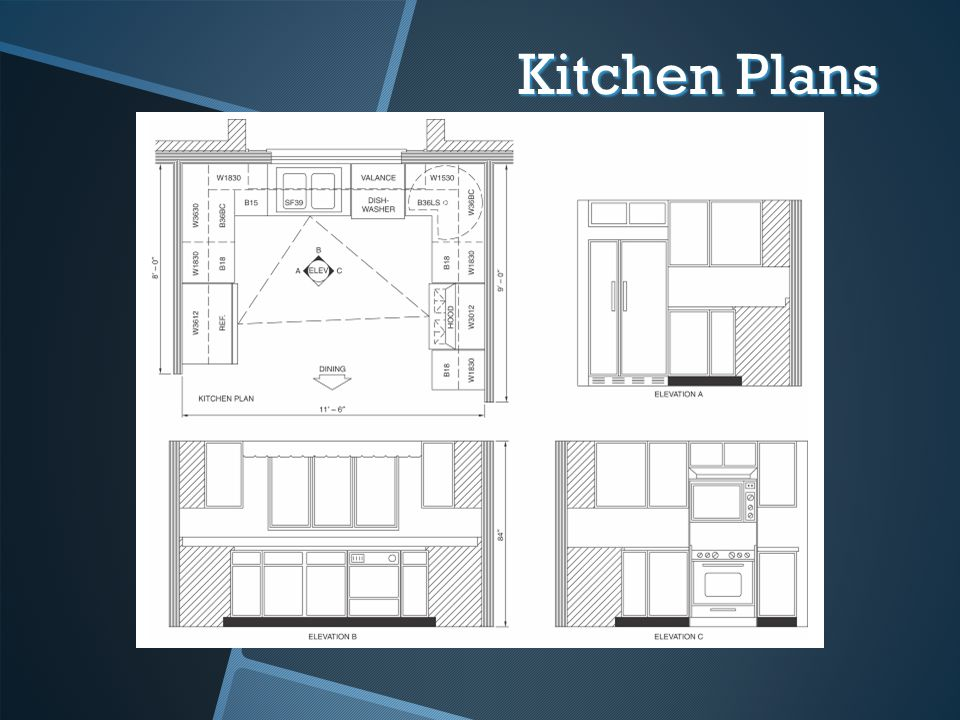Kitchen Plans 39