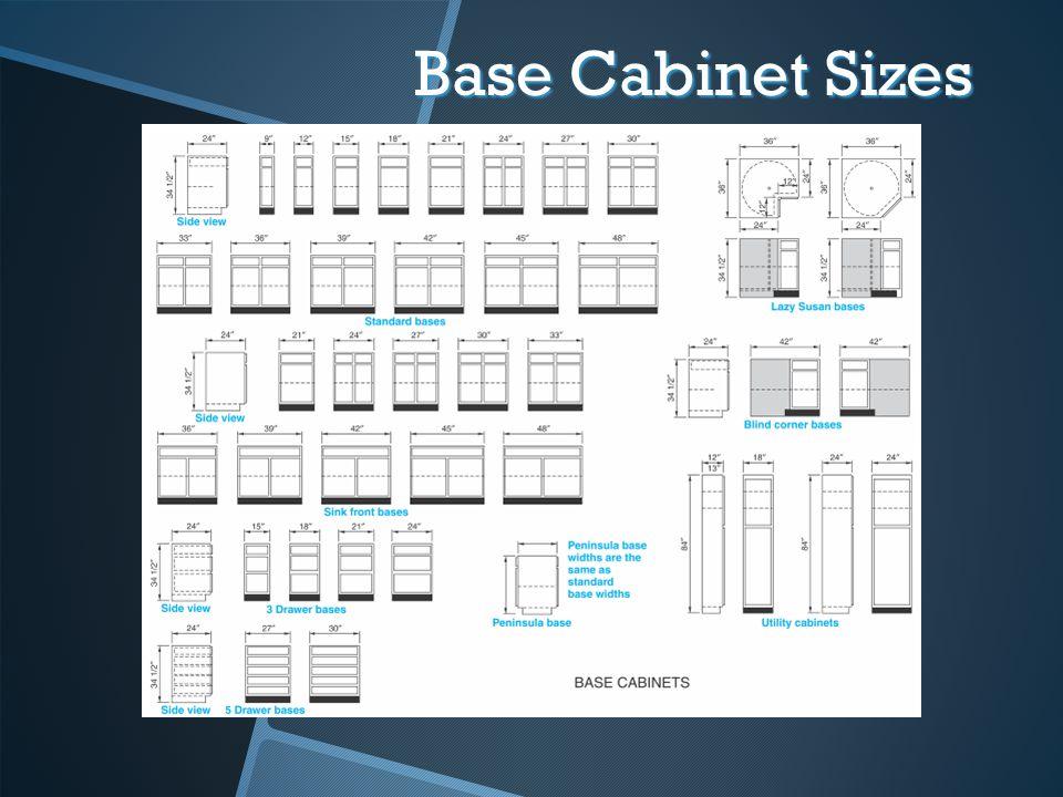 Base Cabinet Sizes 41