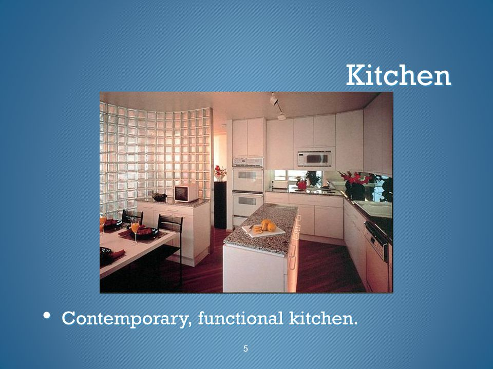 Kitchen Contemporary, functional kitchen. 5