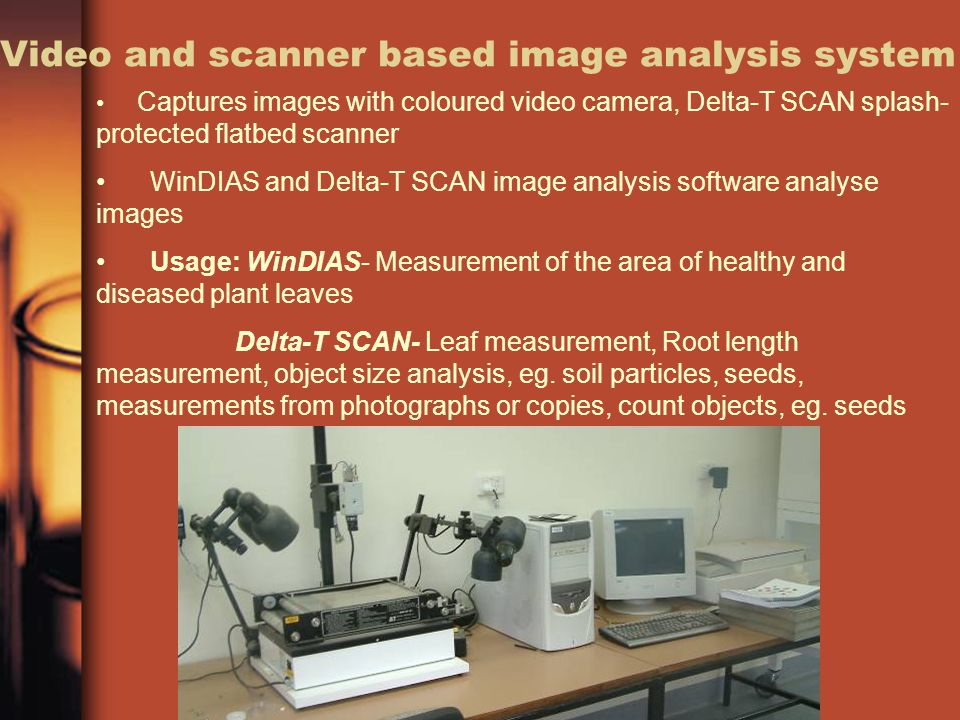 Video and scanner based image analysis system