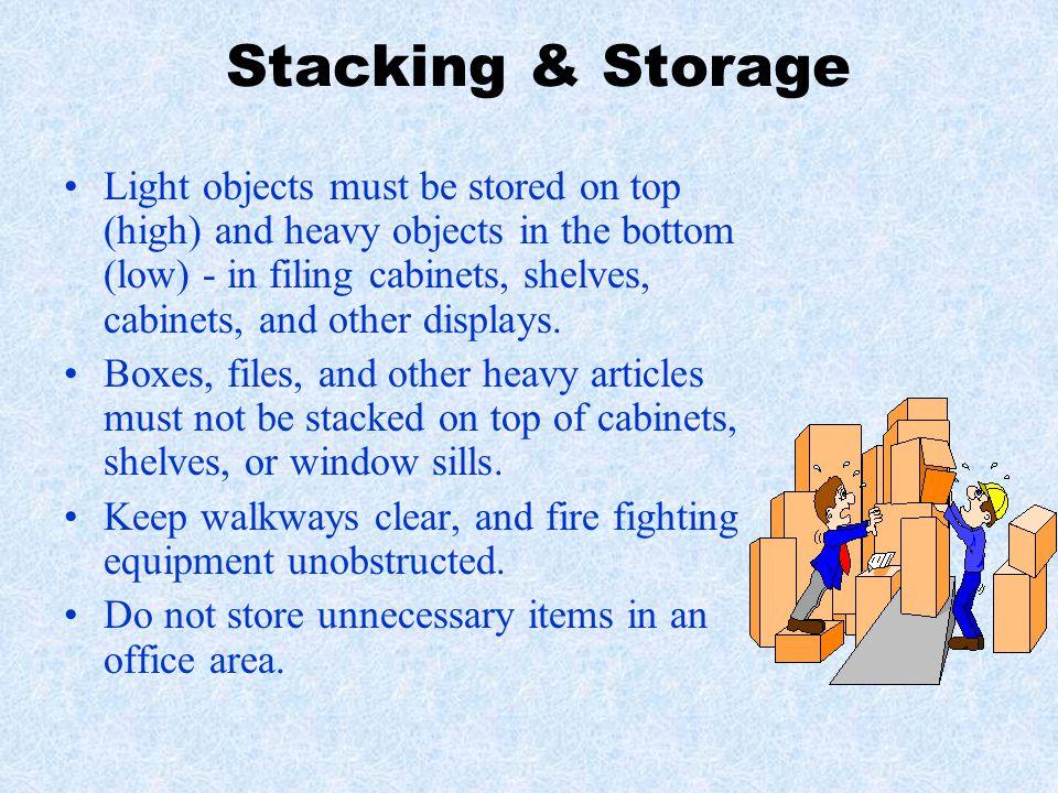 Stacking & Storage