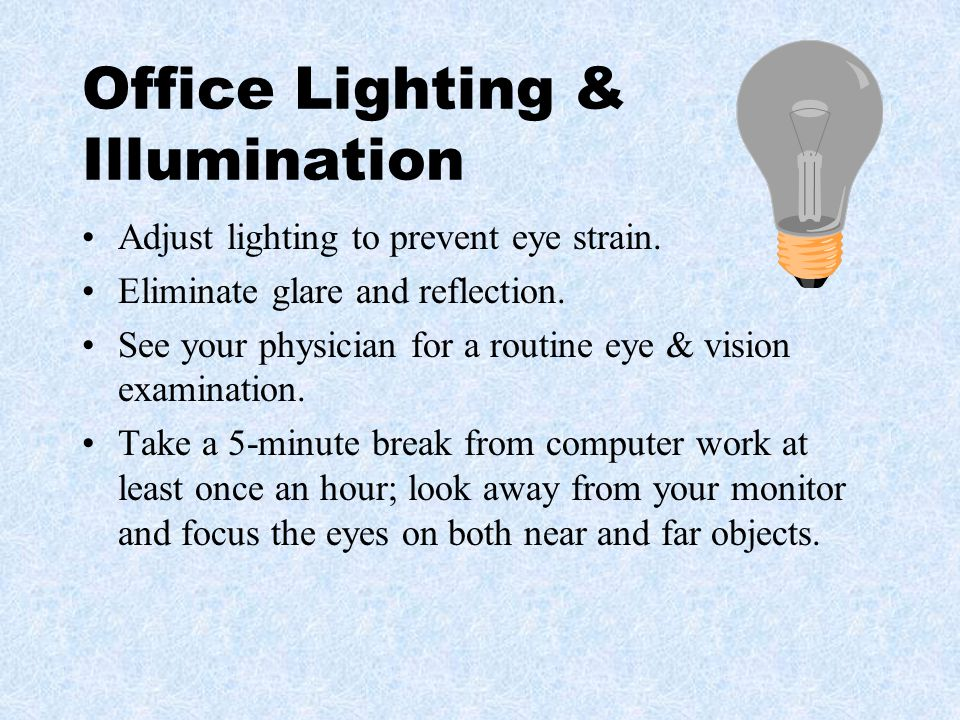 Office Lighting & Illumination
