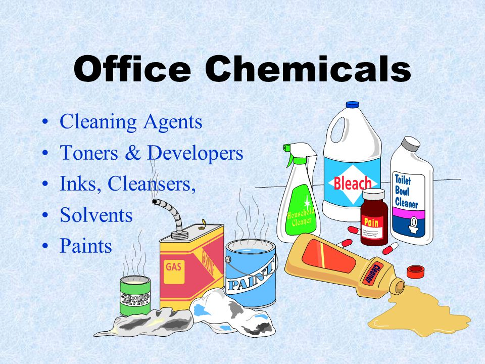 Office Chemicals Cleaning Agents Toners & Developers Inks, Cleansers,