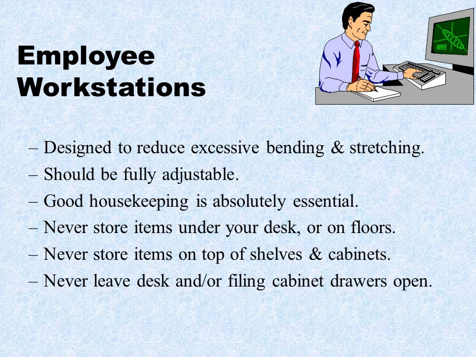 Employee Workstations