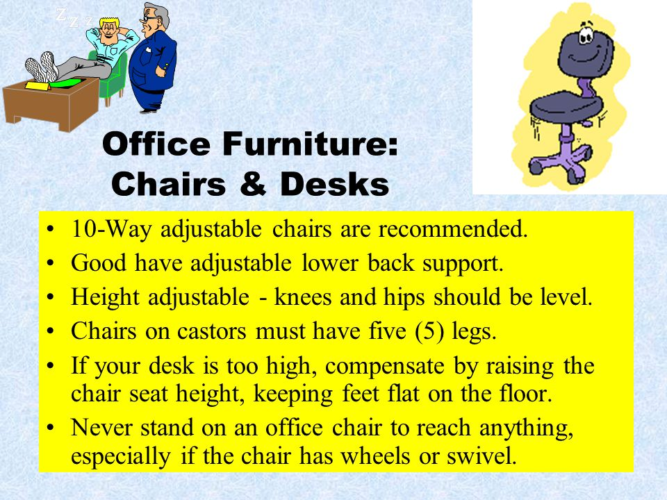 Office Furniture: Chairs & Desks