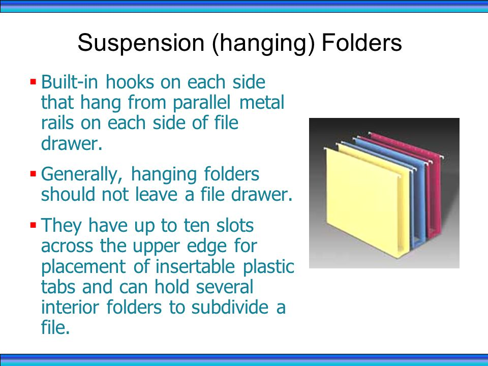 Suspension (hanging) Folders