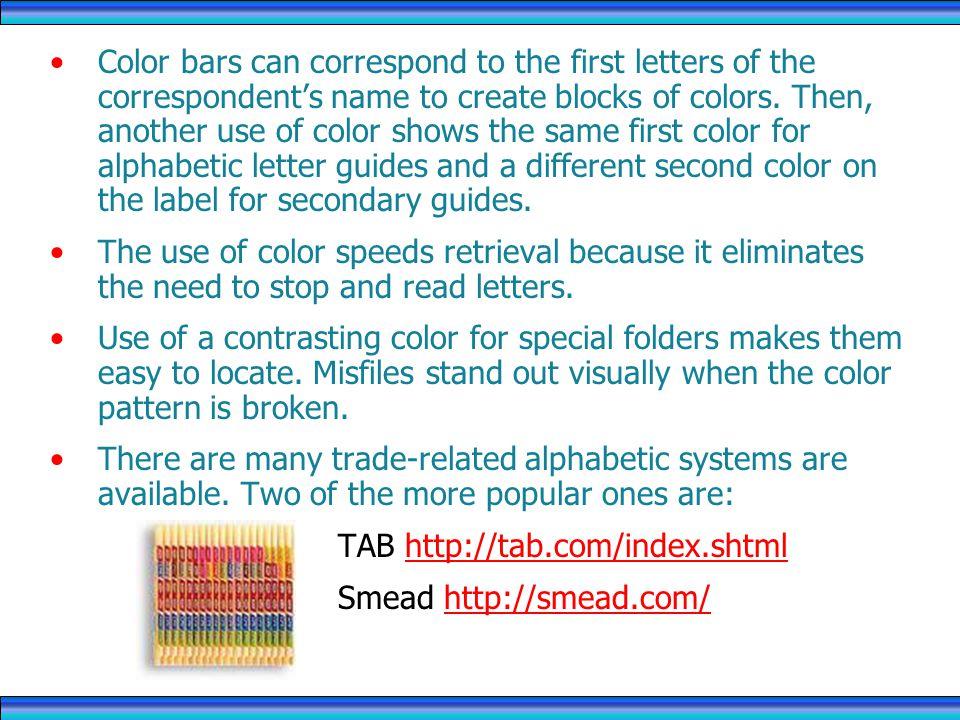 TAB http://tab.com/index.shtml Smead http://smead.com/