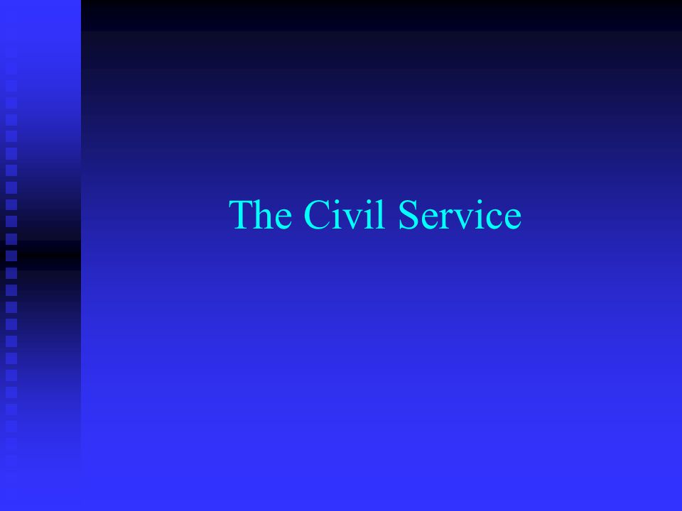 The Civil Service