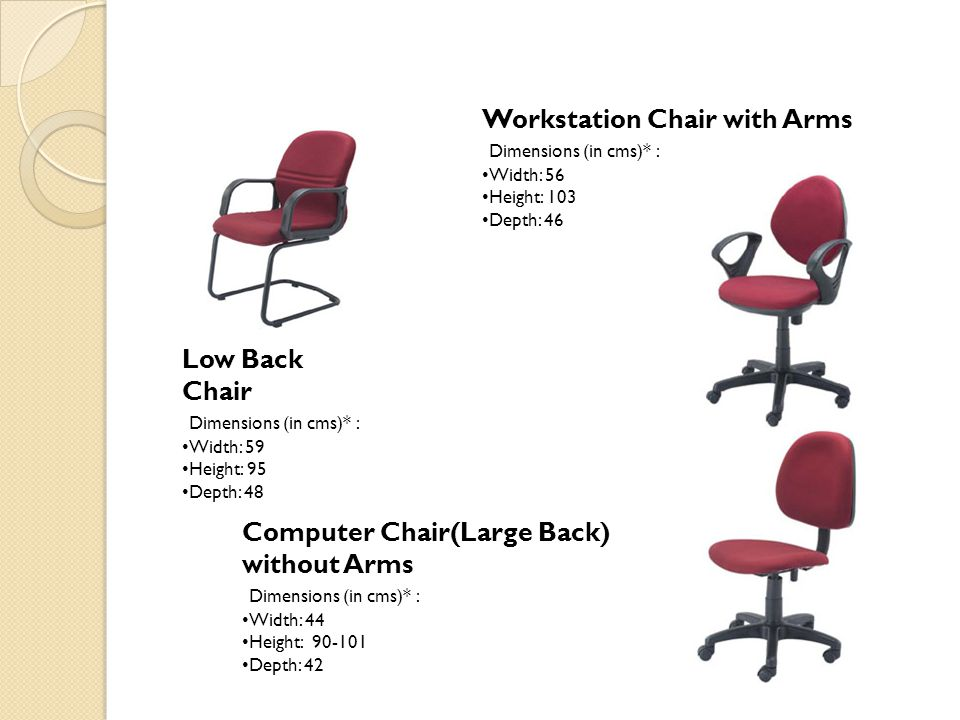 Workstation Chair with Arms