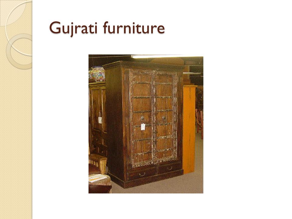 Gujrati furniture
