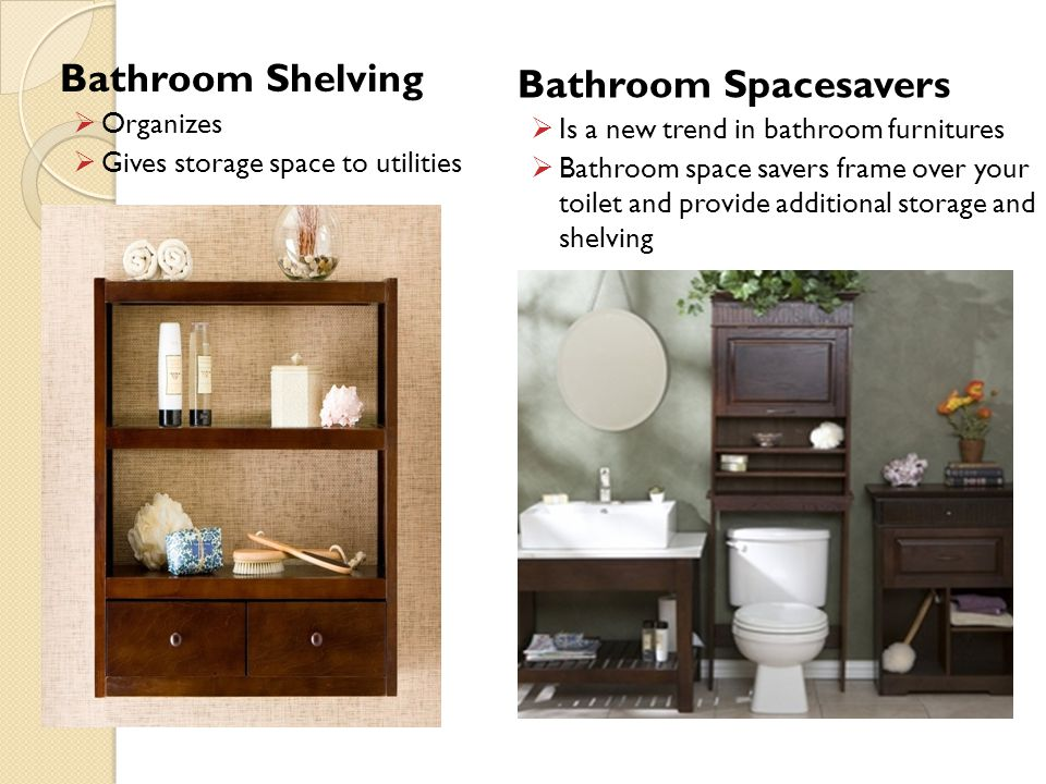 Bathroom Shelving Bathroom Spacesavers Organizes