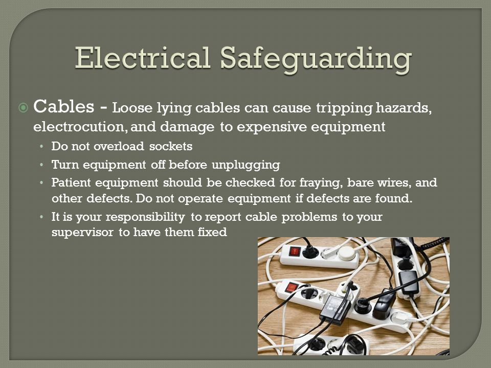 Electrical Safeguarding