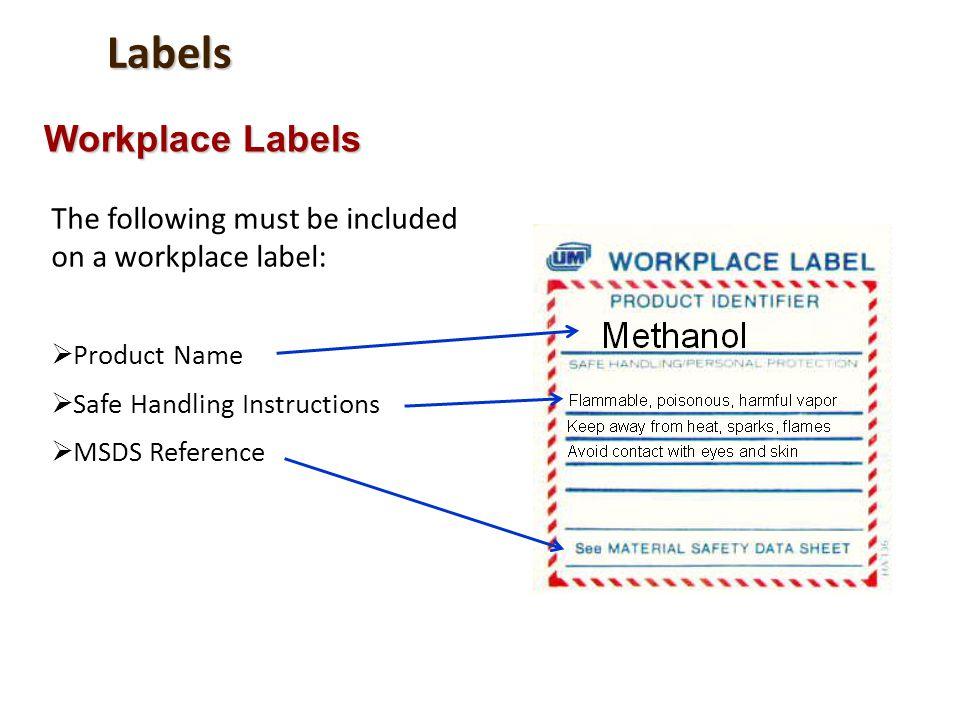 Labels Workplace Labels
