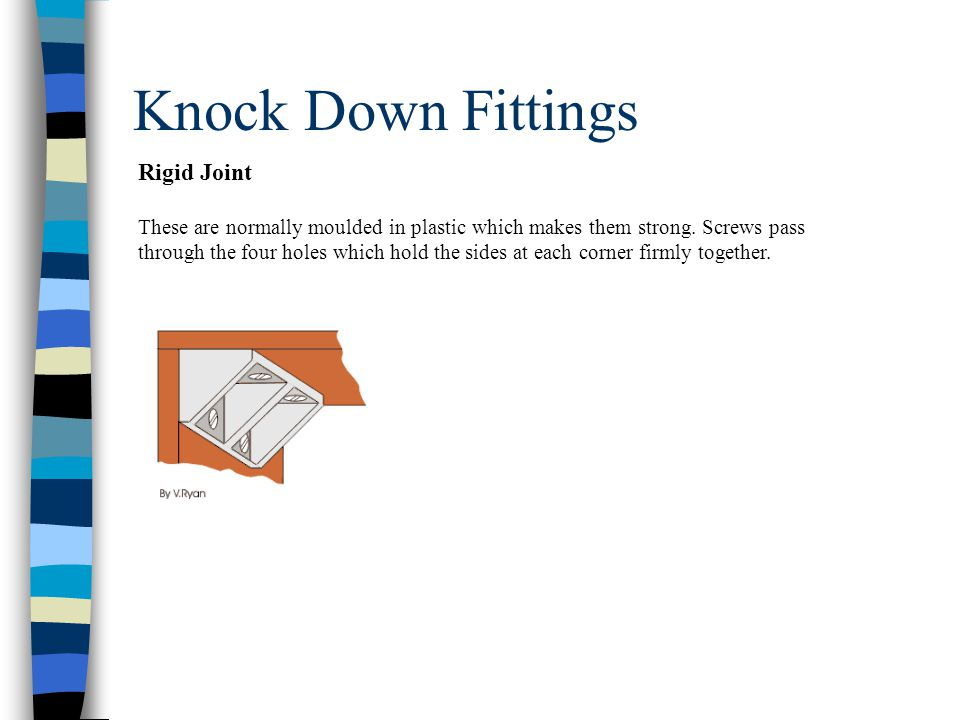 Knock Down Fittings Rigid Joint