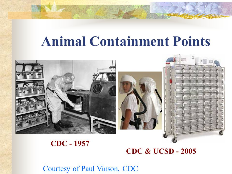 Animal Containment Points