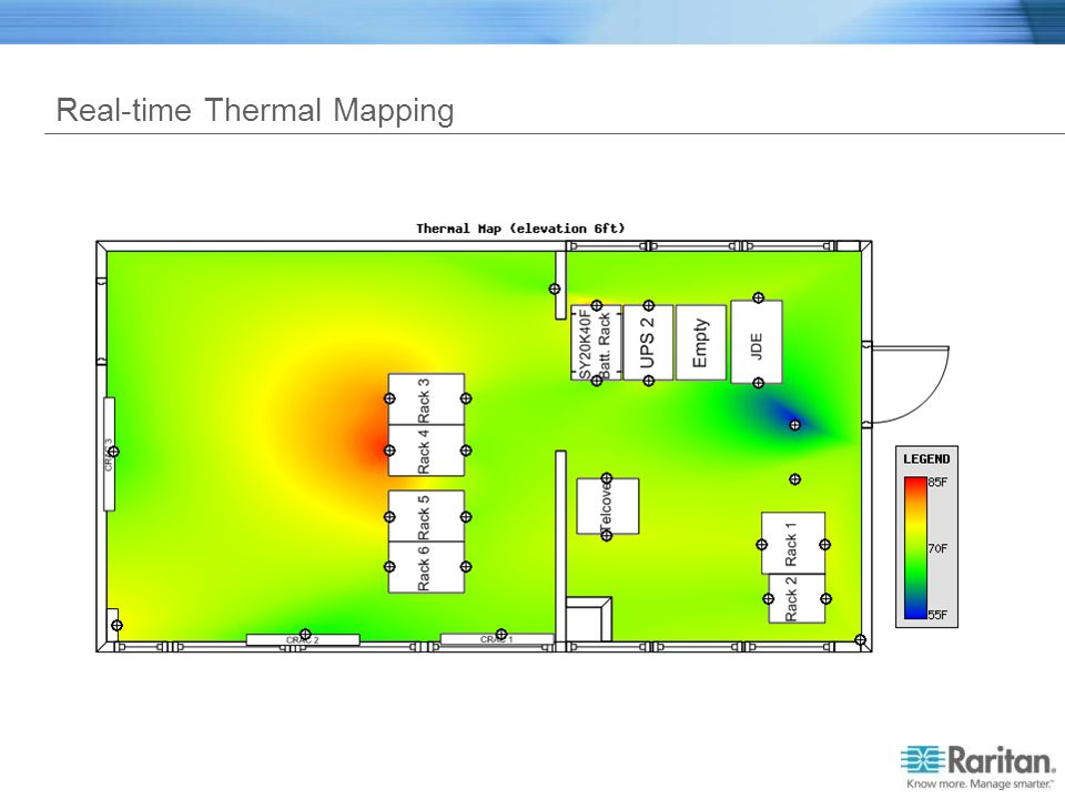 Real-time Thermal Mapping
