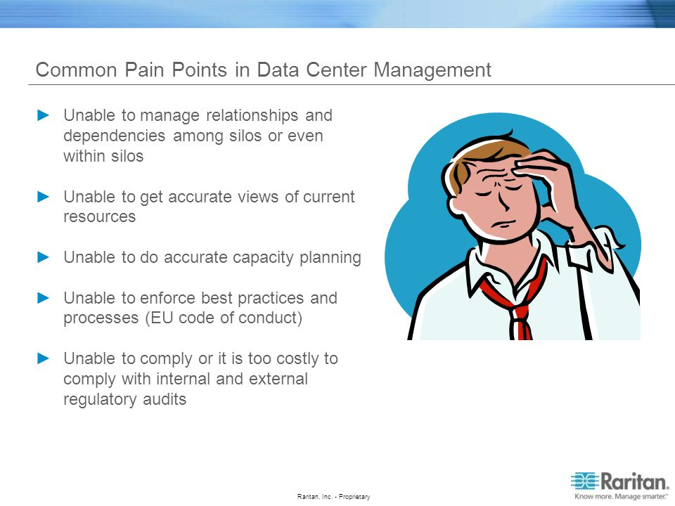 Common Pain Points in Data Center Management