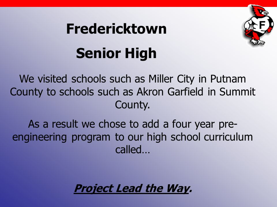 Fredericktown Senior High