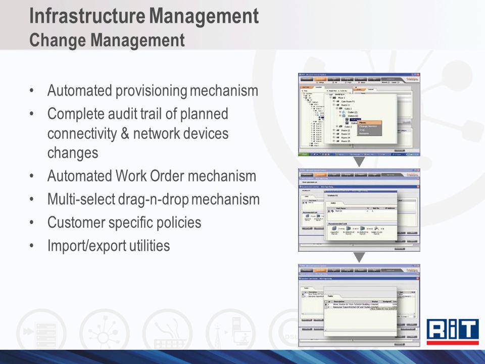 Infrastructure Management Change Management