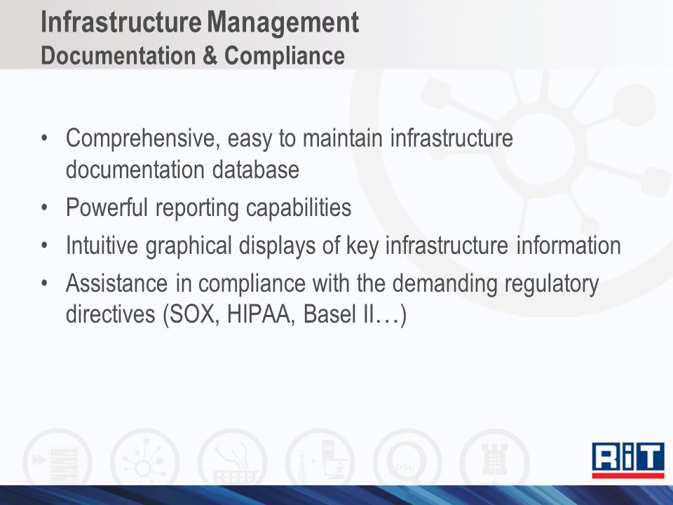 Infrastructure Management Documentation & Compliance