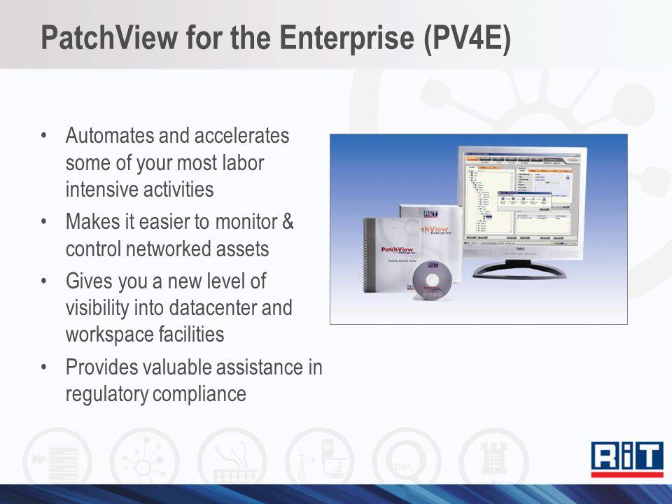 PatchView for the Enterprise (PV4E)