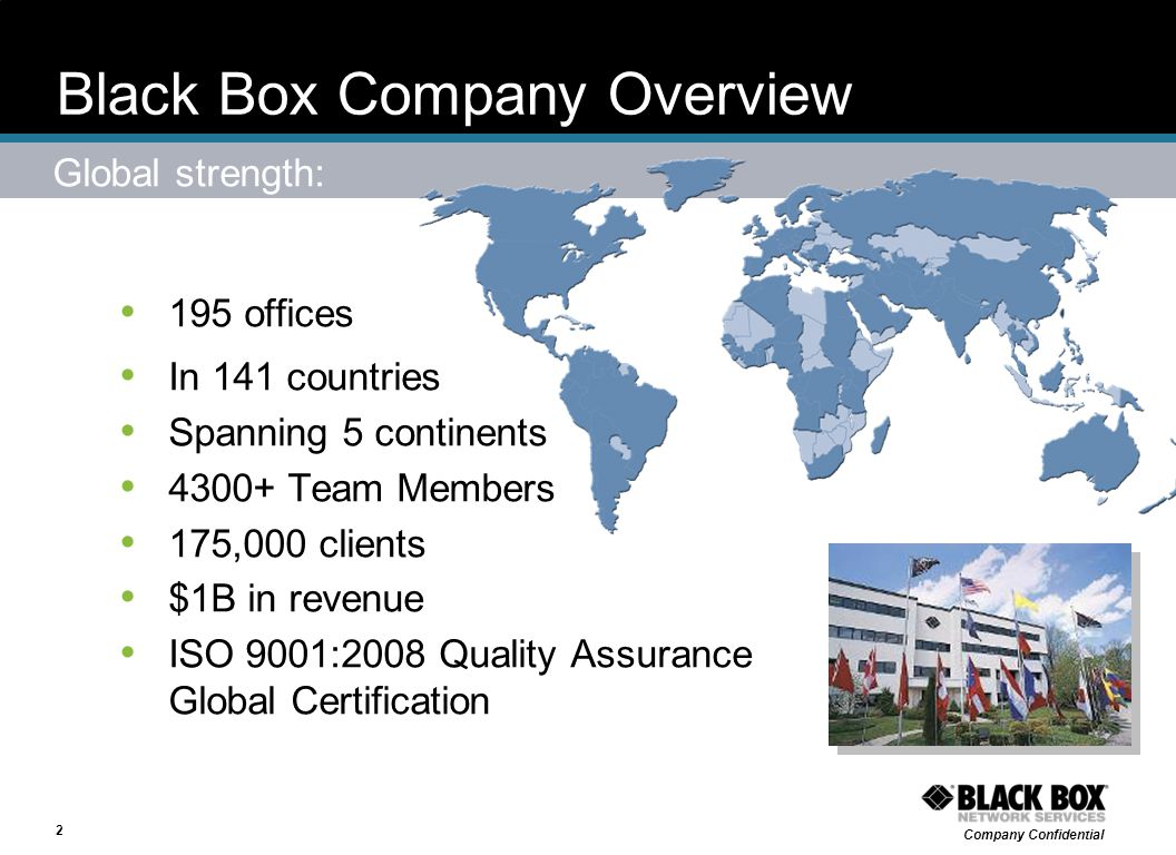 Black Box Company Overview