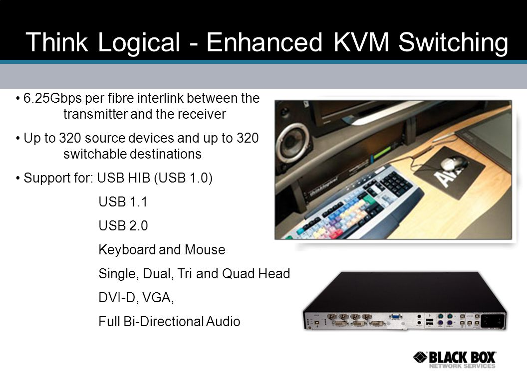 Think Logical - Enhanced KVM Switching