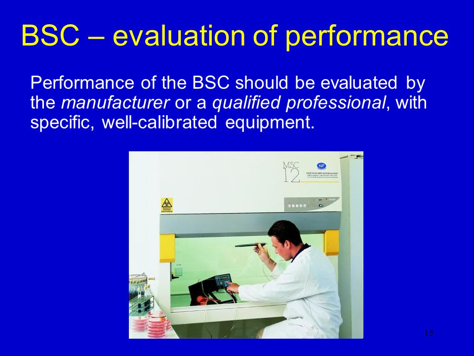 BSC – evaluation of performance