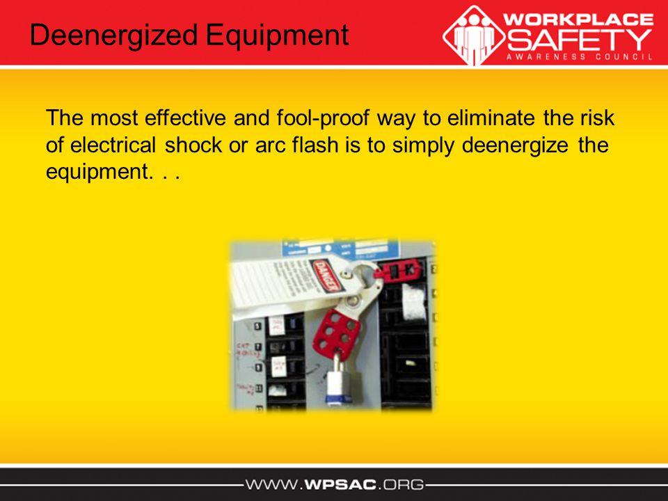 Deenergized Equipment