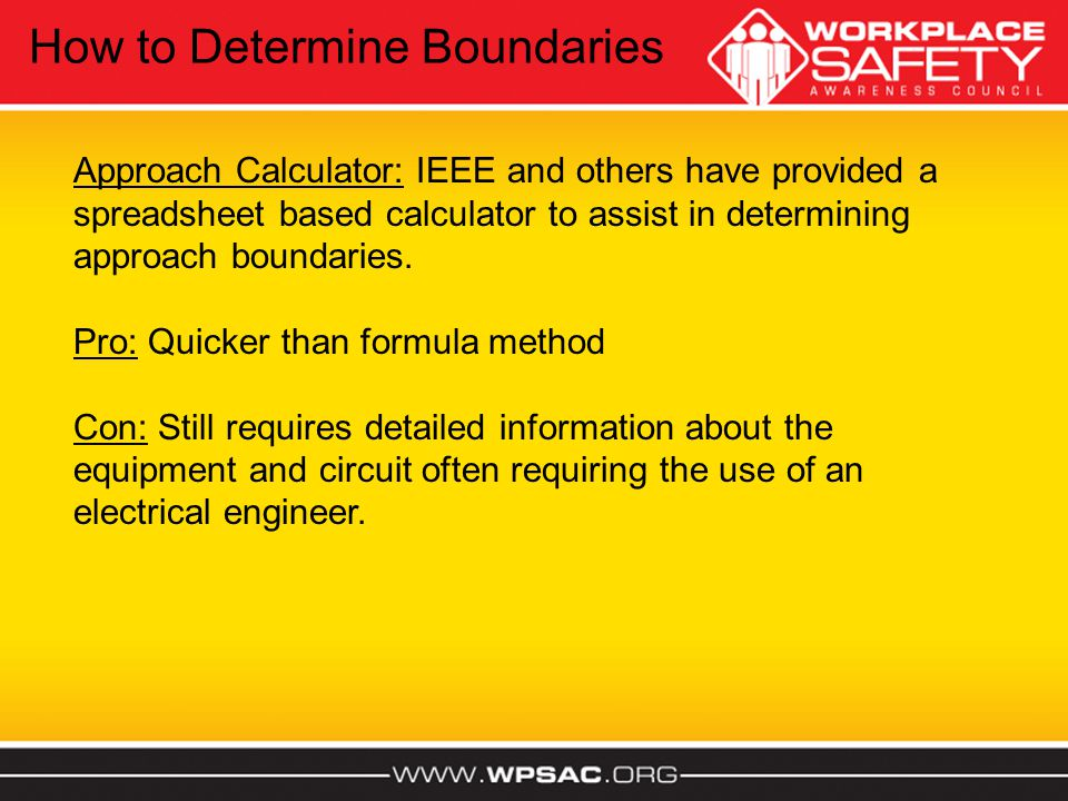 How to Determine Boundaries